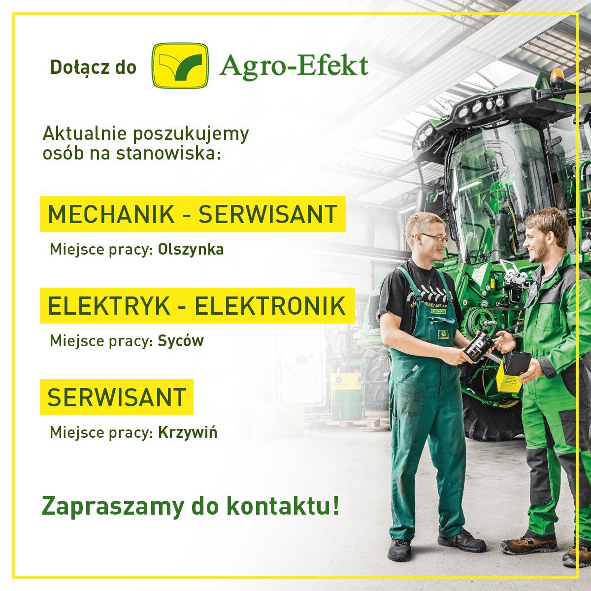 Praca - Agro Mechanik Elektryk